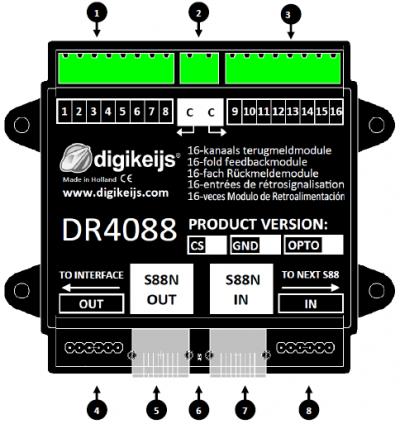digikeijs DR5052-EXT Erweiterungsset für DR5052-BASIC